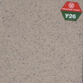 """Керамогранит гладкий 300х300мм У26(""""соль-перец""""серо-бежевого цвета)(1у"""