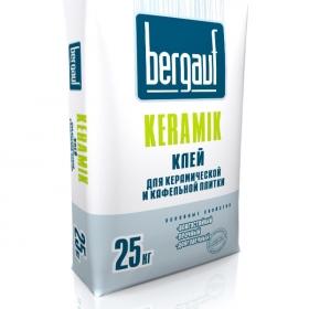 Клей Бергауф Керамик для плитки (25кг) (1п 56 шт)