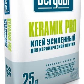 Клей Бергауф Керамик Про для плитки усиленный (25кг) (1п 56 шт)