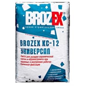 Клей Брозэкс КС-12 Усиленный (25кг) (1п 48шт)