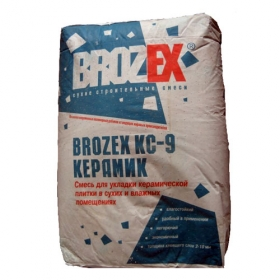 Клей Брозэкс КС-9 Керамик (25кг) (1п 48шт)