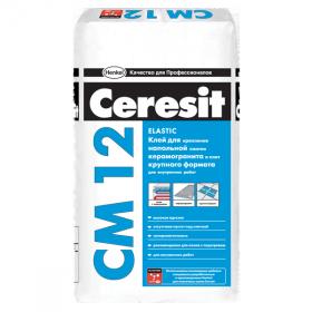 Клей Церезит CM12 для крупноформатной напольной плитки, 25 кг (1п 48шт.