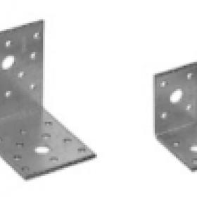Крепежный уголок оцинкованный 105х105х90х2,0мм KU-105 (25шт, 50шт)