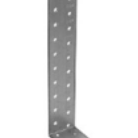Крепежный уголок оцинкованный анкерный 40х80х80х2,0мм KUL-80х80 (50шт, 100ш�