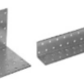 Крепежный уголок равносторонний 40х40х40х2,0мм KUR (100шт, 200шт, 300шт)