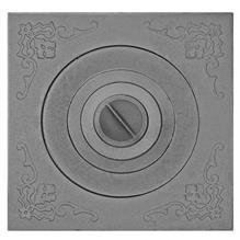 Плита П1-5 под казан с одним отверстием для конфорок от 8 до 10 л.