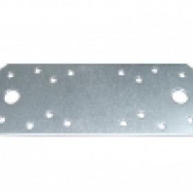 Пластина крепежная оцинкованная 130х55х2,0мм KP-130 (100шт)