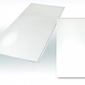 Панель ПВХ Белая лакированная 2700х250 (10шт)