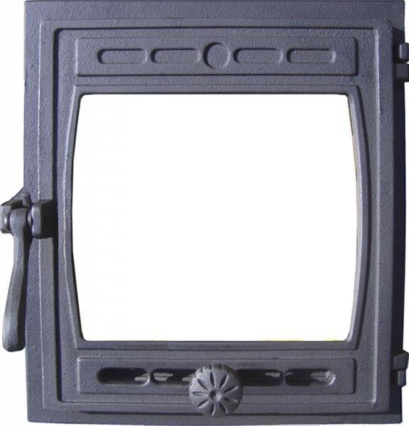 """ДТГ-8С дверка топочная герметичная со стеклом """"КИЖИ"""""""