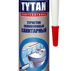 Герметик Титан санитарный белый 310мл(1кор=12 шт)(1пал=120кор)