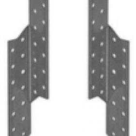 Держатель балки DBПравый 170х40х2мм (20шт, 50шт)